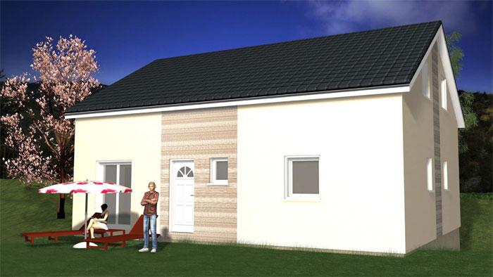 Modele eco jouan maison bois - Maison bois eco ...